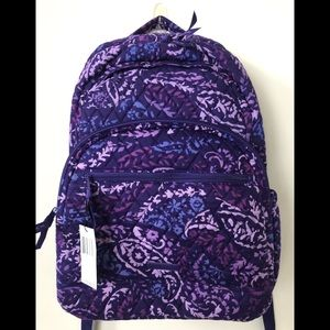 New Vera Bradley large essential backpack